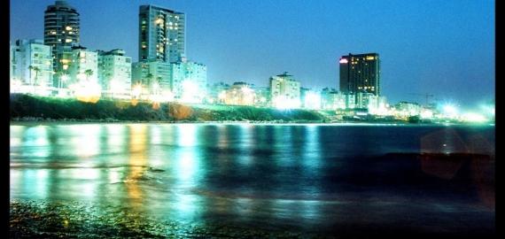 ночной Бат-Ям